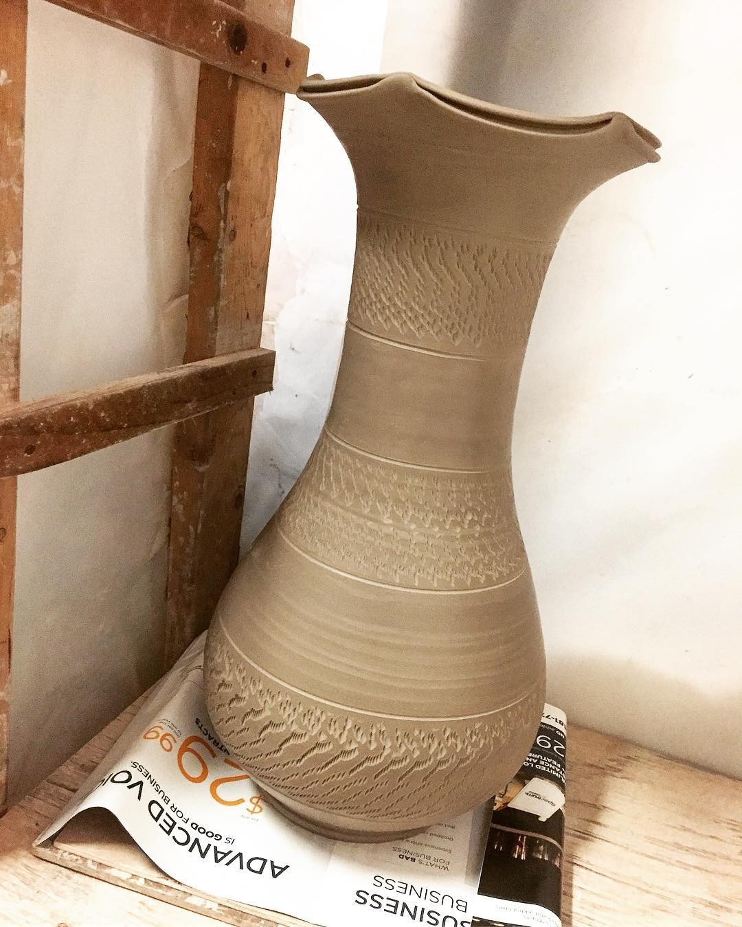 bjorn wiinblad vase of porcelainvase hash tags deskgram regarding she is all trimmed and finished now for her to dry it wasn