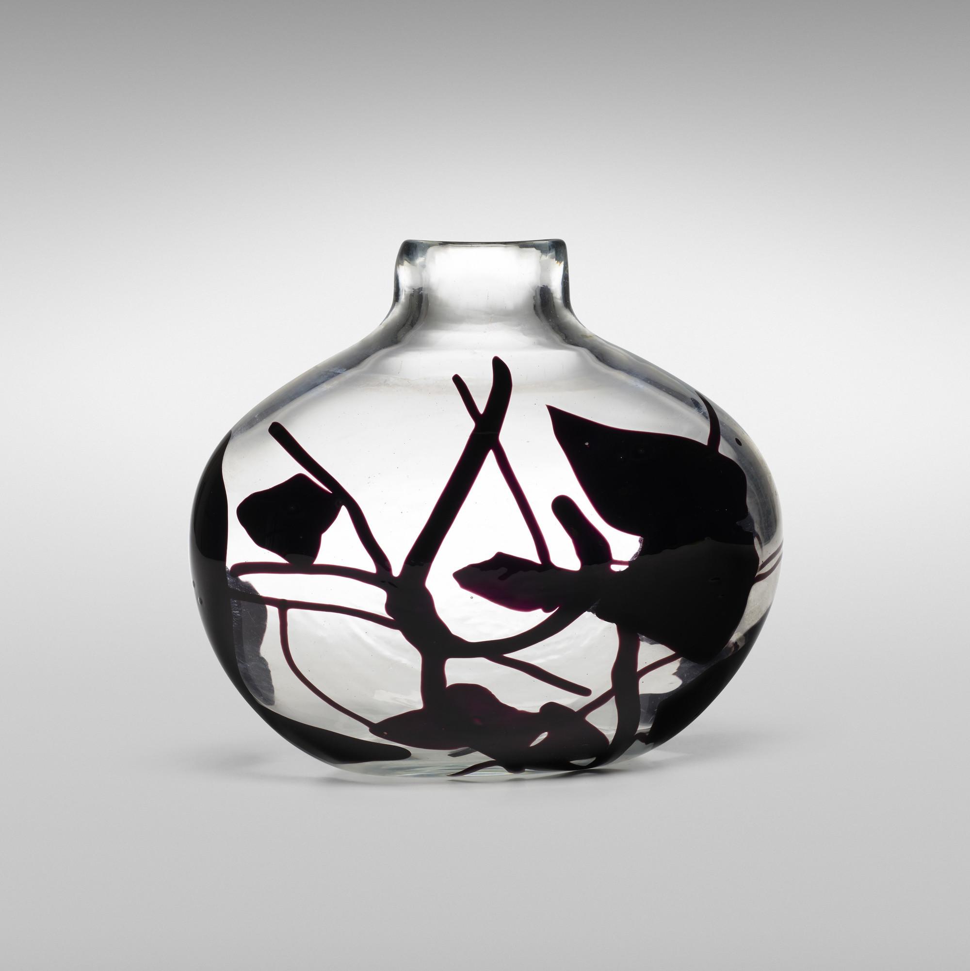 black ceramic floor vase of 139 fulvio bianconi important con macchie vase model 4324 inside 139 fulvio bianconi important con macchie vase model 4324 1 of 4