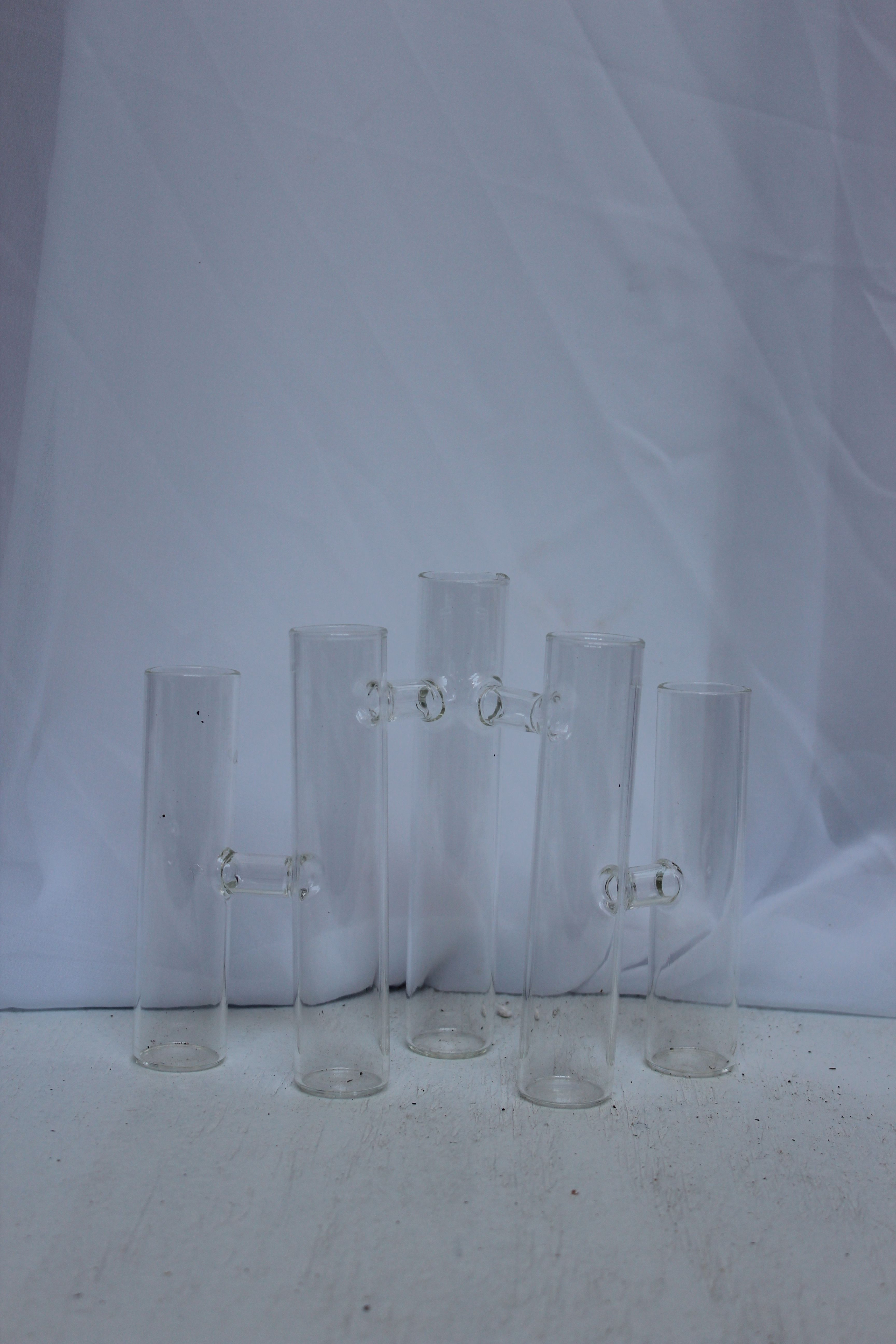 Black Glass Cube Vase Of 5 Connected Test Tube Style Bud Vases Showroom Pinterest Test with 5 Connected Test Tube Style Bud Vases