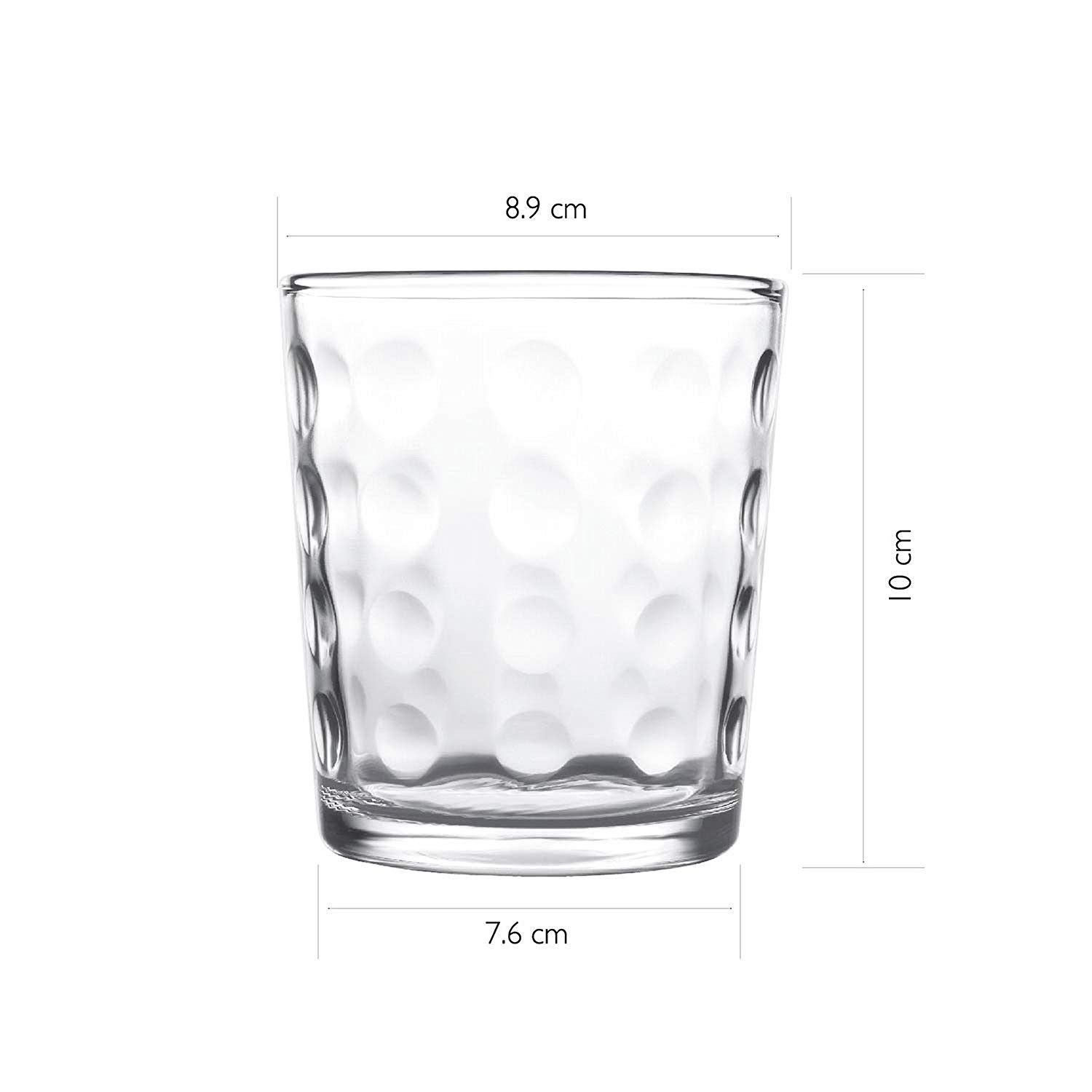 Black Glass Cube Vase Of Buy Cello Prego Terra Tumbler Set 385ml 10cm Set Of 6 Clear Regarding Buy Cello Prego Terra Tumbler Set 385ml 10cm Set Of 6 Clear Online at Low Prices In India Amazon In