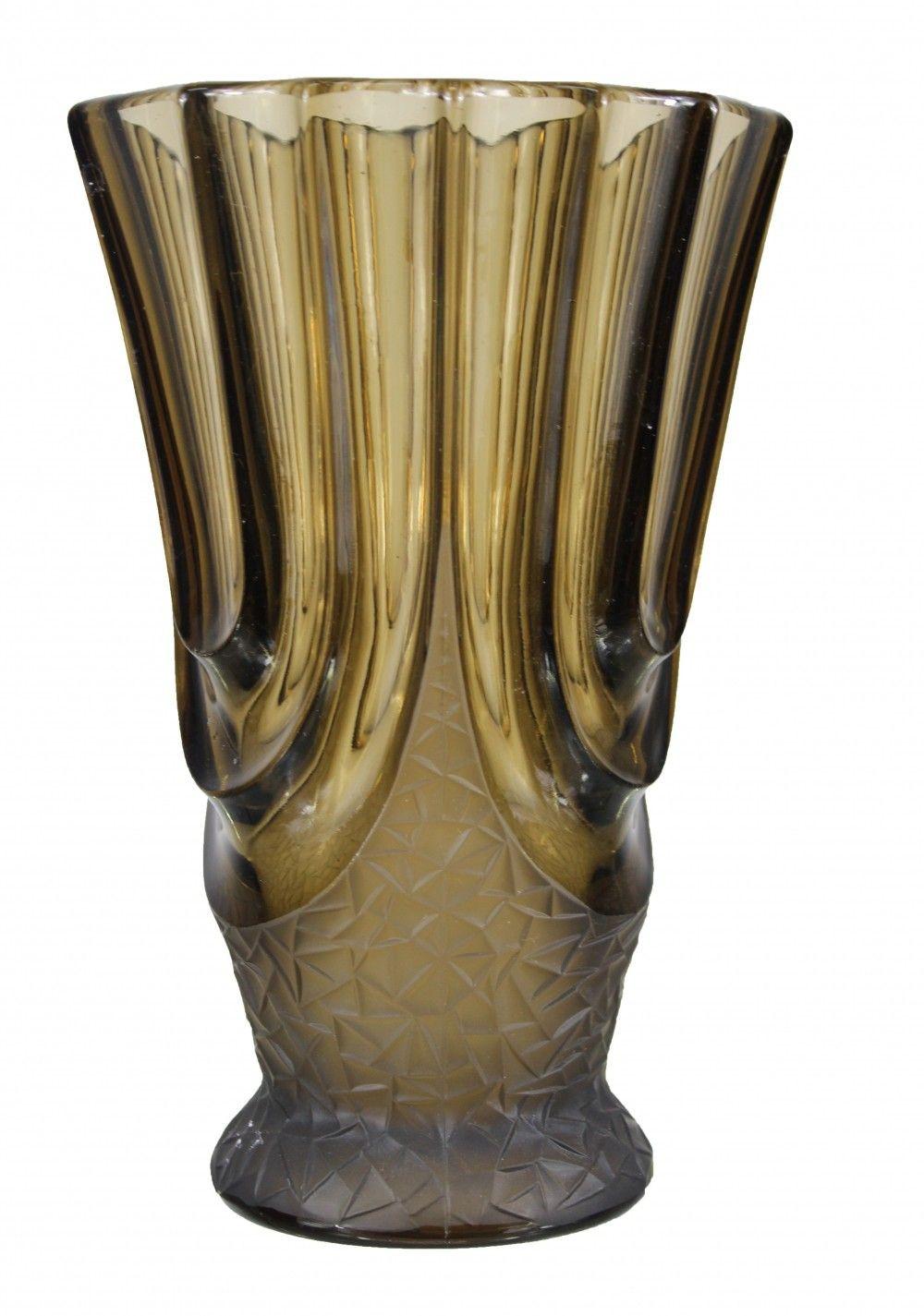 black glass vase vintage of italian art deco smoked glass vase 1930s various vintage design with italian art deco smoked glass vase 1930s
