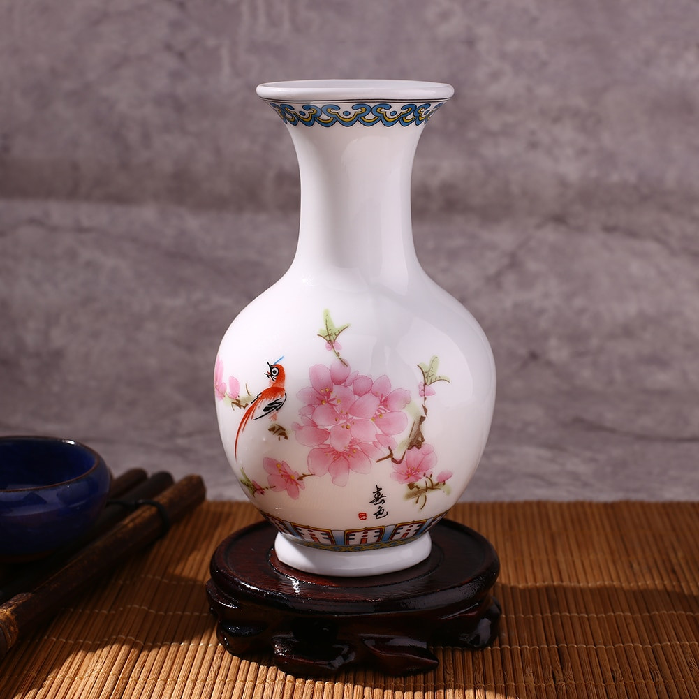 black oriental vase of traditional chinese blue white porcelain ceramic flower vase vintage pertaining to aeproduct getsubject