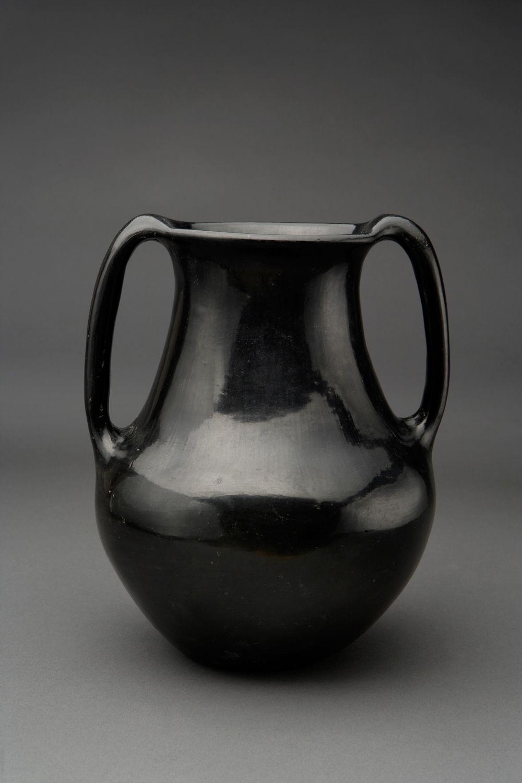 black plastic vase of black santa clara vase w delicate handles c 1930′s pots regarding black santa clara vase w delicate handles c 1930′s