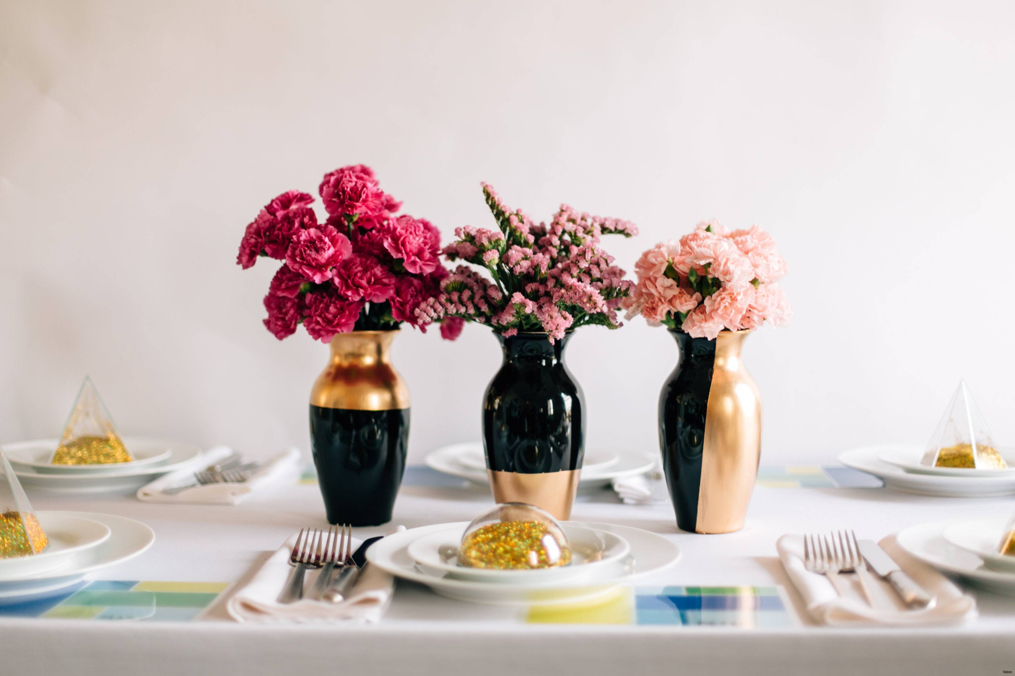 black vase centerpieces of pink and silver table decorations luxury black and white vases 1h inside pink and silver table decorations luxury black and white vases 1h cheap centerpiece vasesi 0d silver