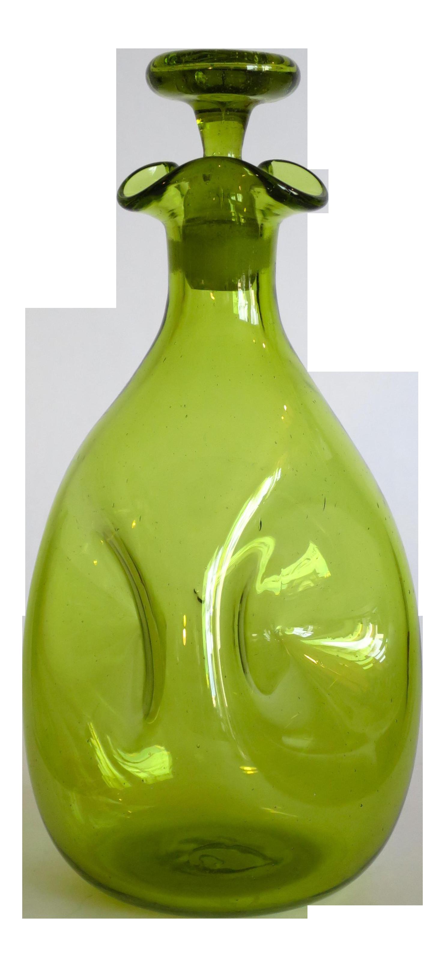 blenko handcraft vase of vintage handblown blenko glass decanter chairish within vintage handblown blenko glass decanter 8668