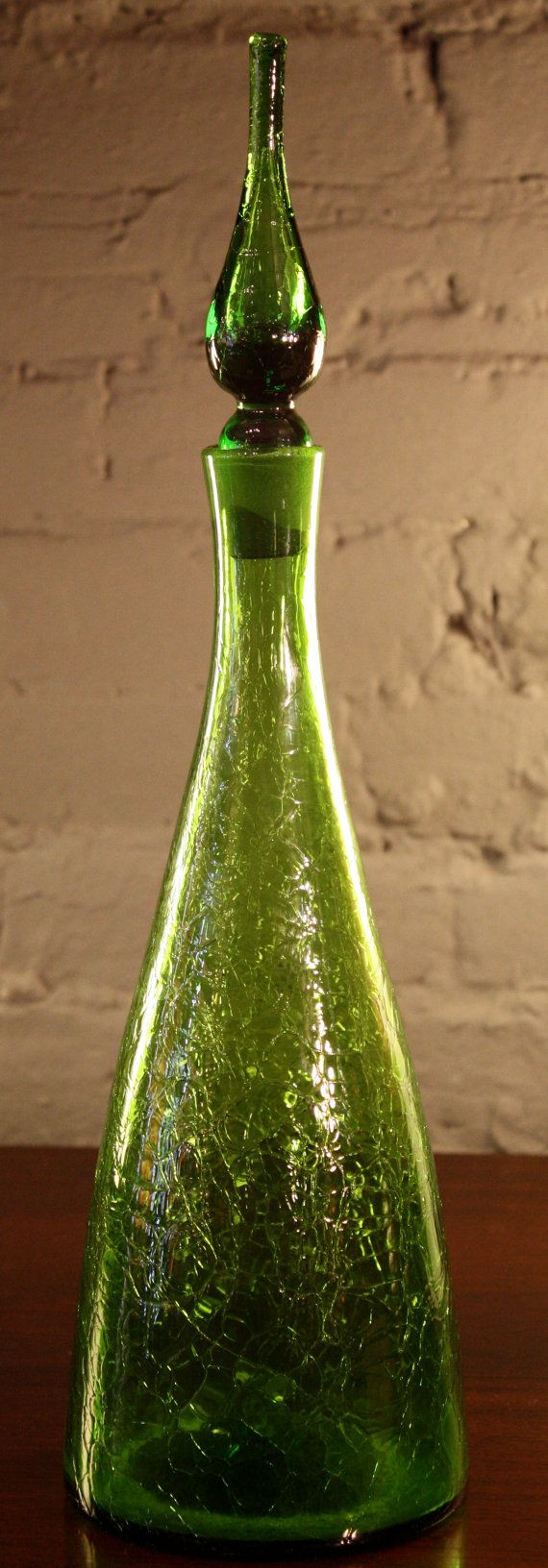 21 attractive Blenko Vase Shapes 2021 free download blenko vase shapes of 122 best studio glass images on pinterest champagne flutes in vintage blenko crackle glass decanter in light by jarontiques 200 00