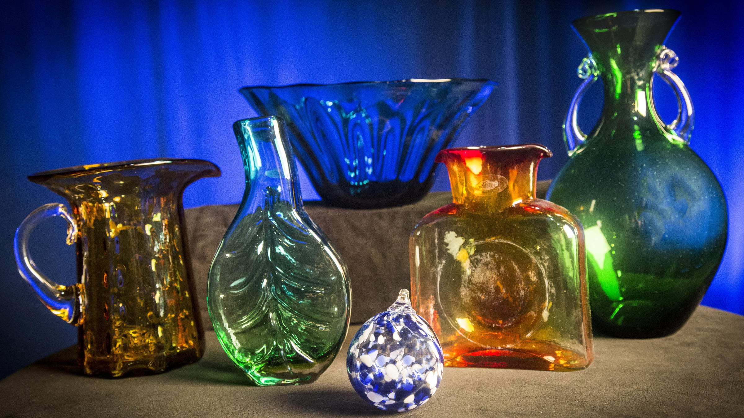 blenko vase shapes of blenko glass behind the scenes wkar within as a thank you for your gift of support to wkar we are pleased to offer many choices of blenko glassware