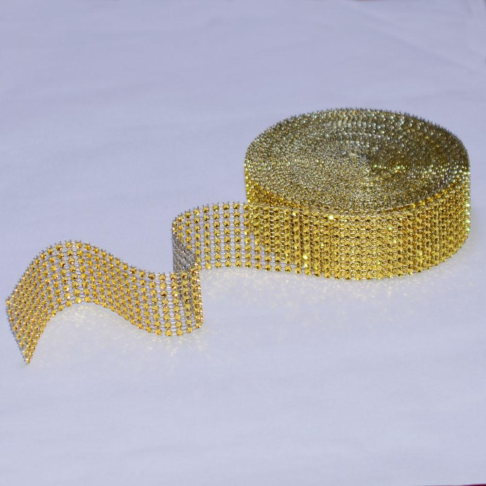 bling vases for sale of 5 yard 8 row gold silver diamond mesh wrap roll sparkle rhinestone with 5 yard 8 row gold silver diamond mesh wrap roll sparkle rhinestone crystal cake ribbon wedding