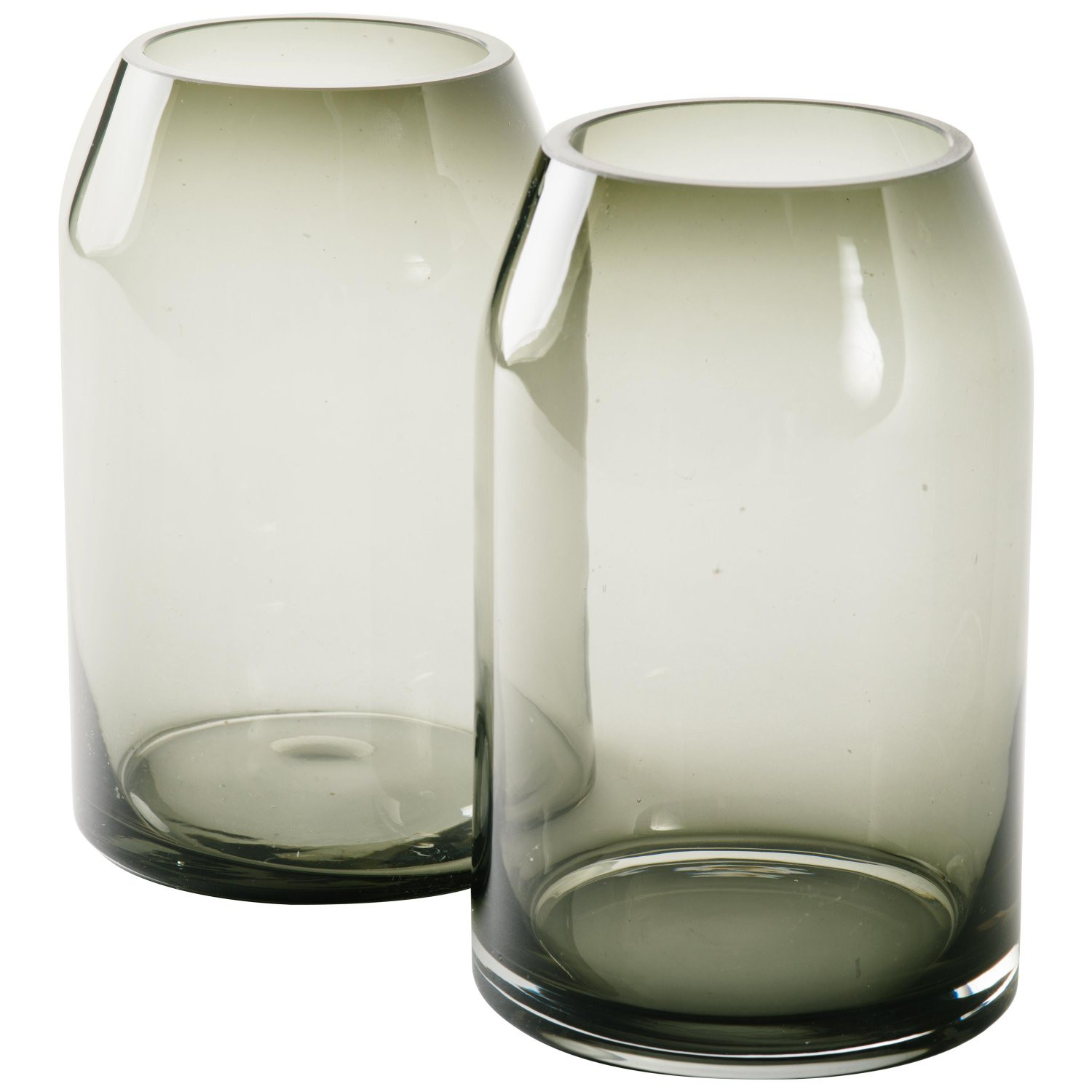 blown glass teardrop vases of pair of vintage sommerso smoked glass vases for sale at 1stdibs inside 11393911 master