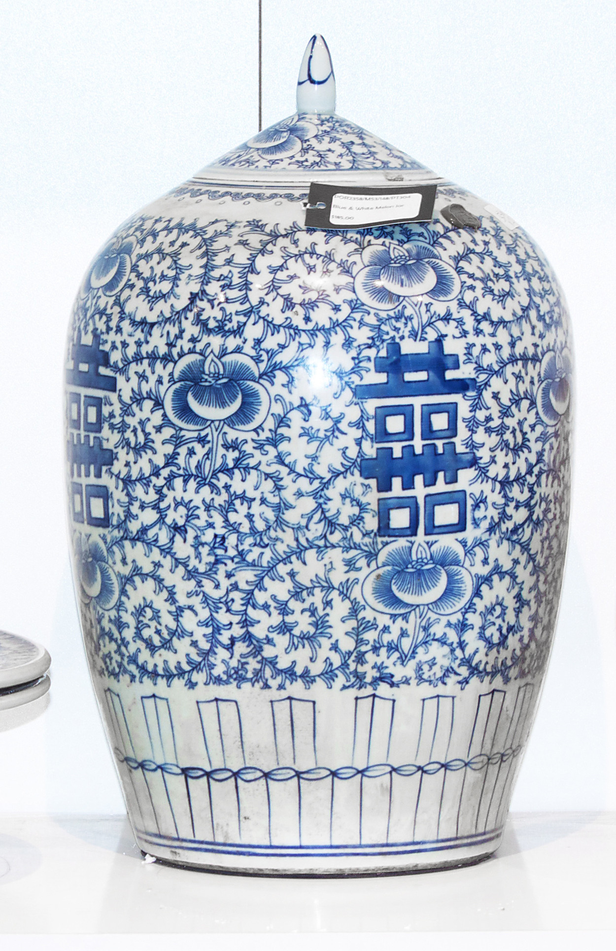 blue and white chinese vases cheap of blue and white melon jar orient house with porcelain pieces a blue and white melon jar