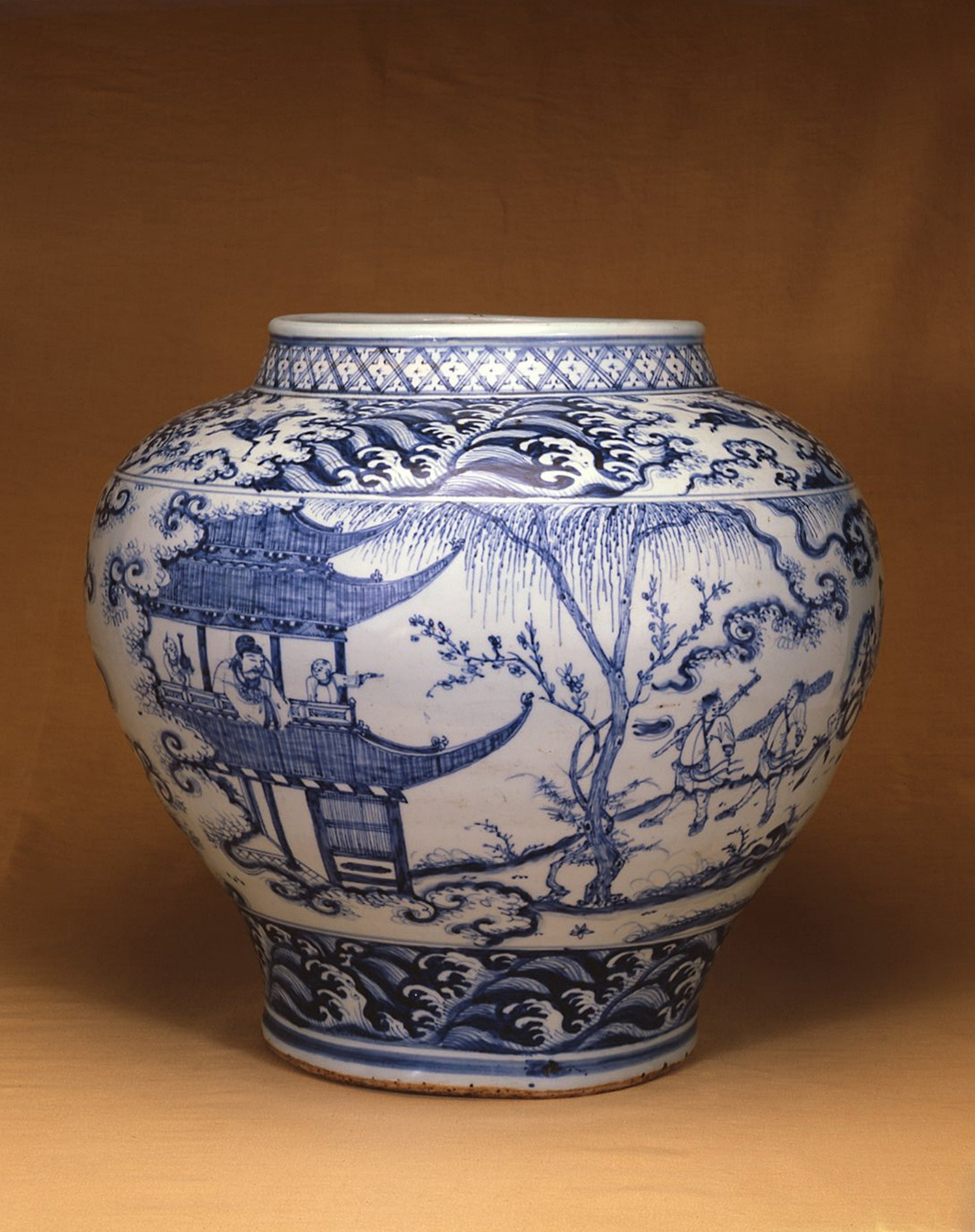 blue and white jars and vases of an extremely fine and rare blue and white jar guan circa 1500 within an extremely fine and rare blue and white jar guan
