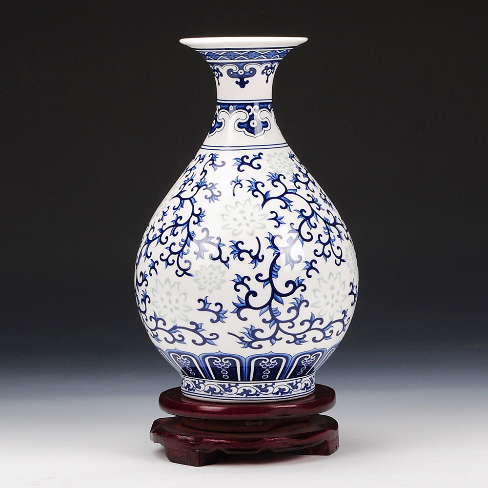 blue and white porcelain vases wholesale of china jingdezhen vase ceramics china jingdezhen vase ceramics with get quotations a· exquisite blue and white porcelain in jingdezhen ceramics antique vase new classical chinese style living room