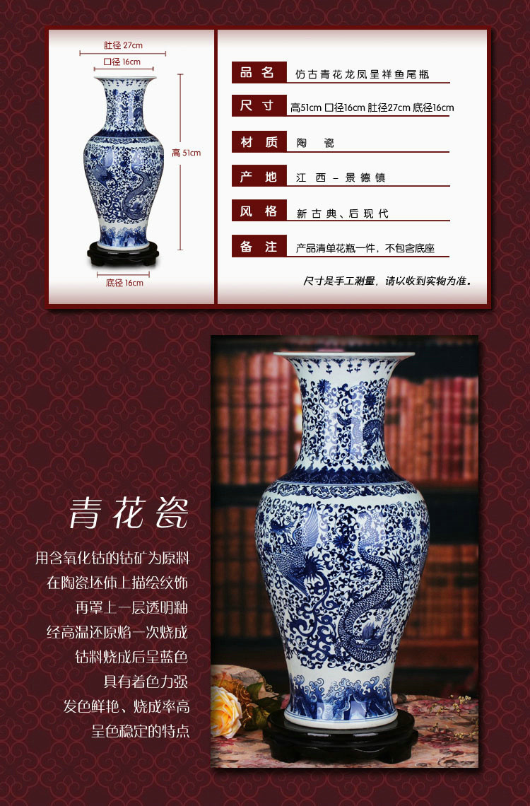 blue and white pottery vases of chinese hand painted qing dynasty ancient home porcelain vase blue inside chinese hand painted qing dynasty ancient home porcelain vase blue and white ceramic vase dragon jingdezhen ceramic vase designs in lamp covers shades