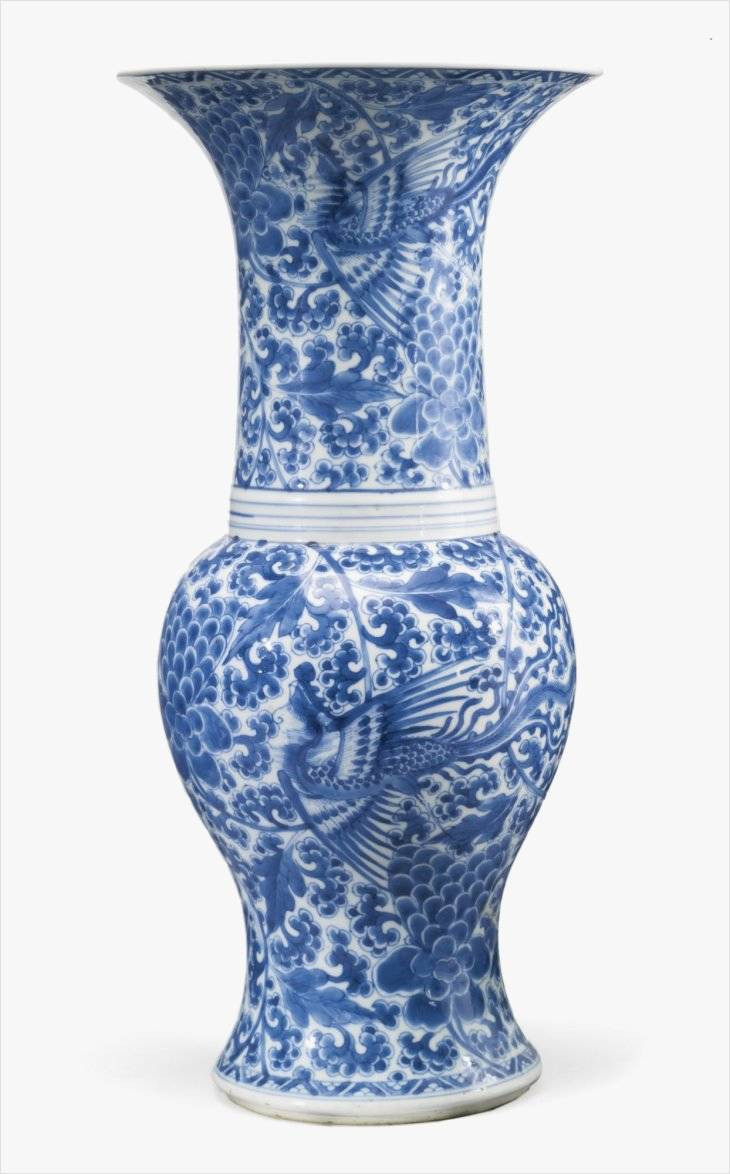 blue and white vase of fresh design on blue and white chinese porcelain vases for best home with regard to jp a chinese porcelain blue and white vase kangxi period circa 1700