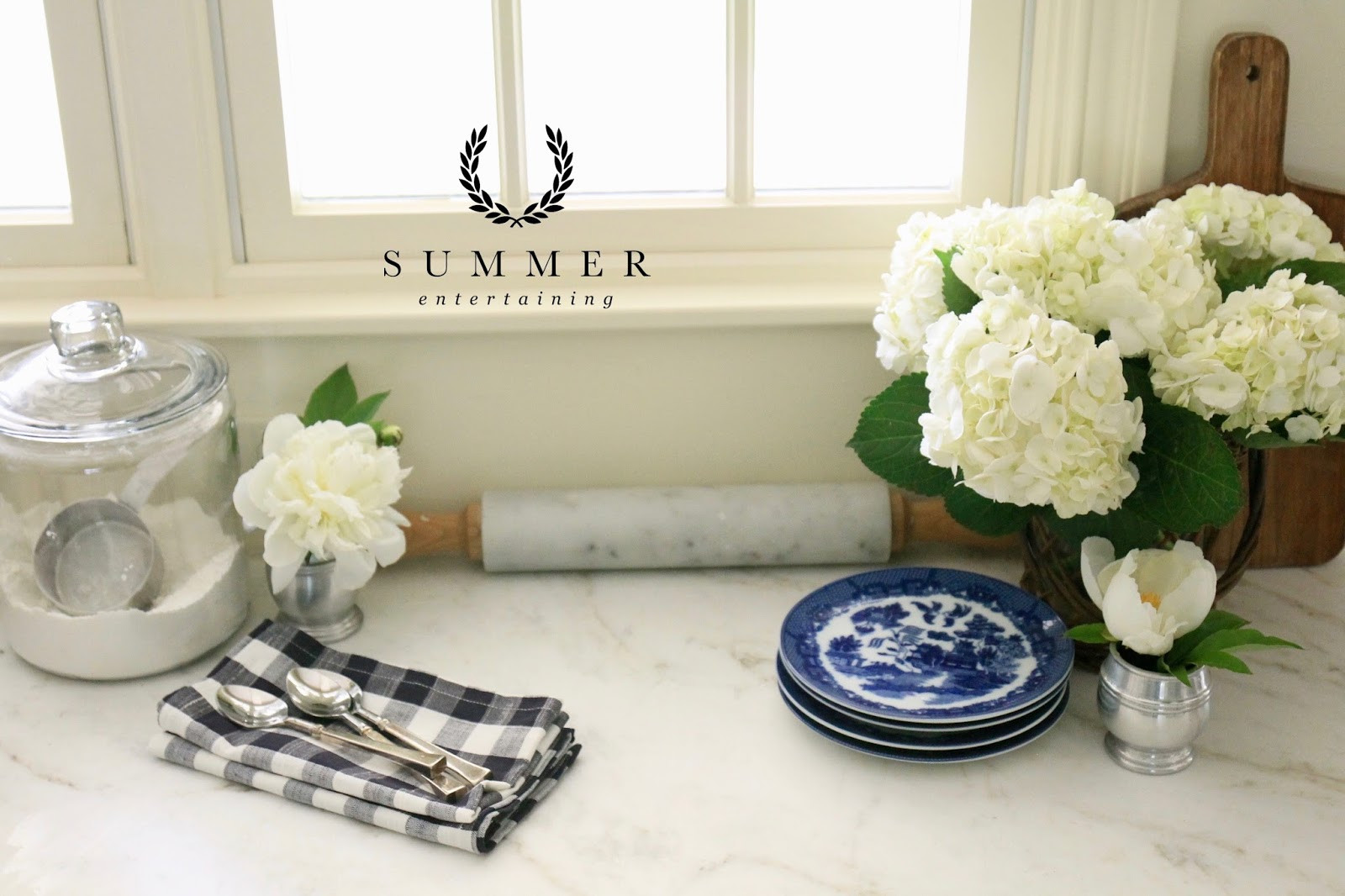 blue and white vase prints of jenny steffens hobick summer home dreams collection blue white inside the summer collection inspired by this vision is now live it is filled with ginghams for breezy summer entertaining sweet botanical prints for