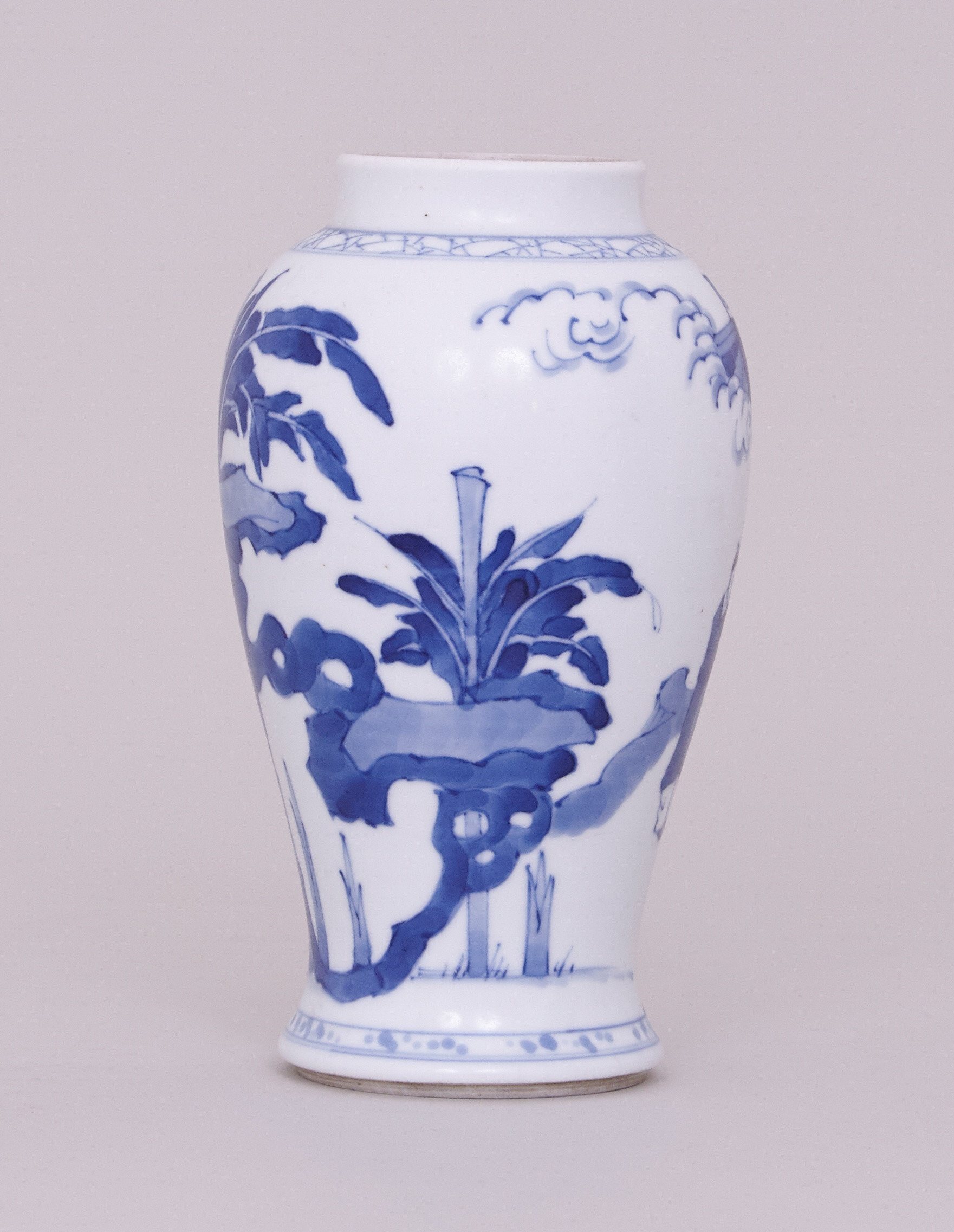 blue and white vases and urns of a chinese blue and white vase kangxi 1662 1722 anita gray throughout a chinese blue and white vase