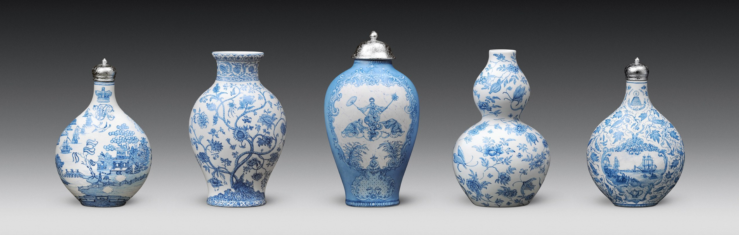 blue and white vases and urns of new blue and white ferrin contemporary throughout robin best the british east india company trade and war 2012