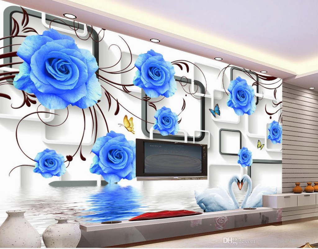 blue floral vase of fresh h vases bud vase flower arrangements i 0d for inspiration for lovely custom any size blue rose swan 3d tv wall mural 3d wallpaper 3d wall of