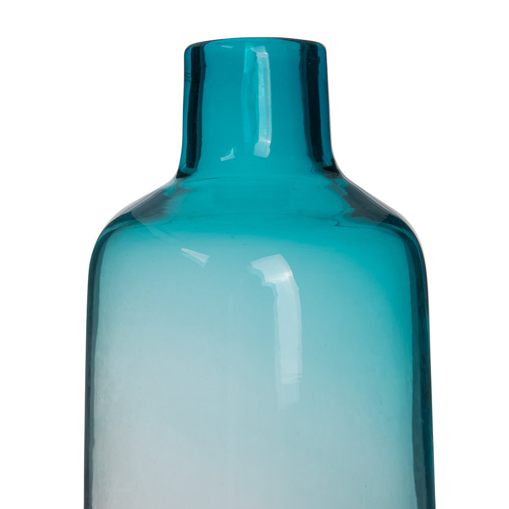 blue glass bottle vase of buy pols potten pill glass vase blue amara in next