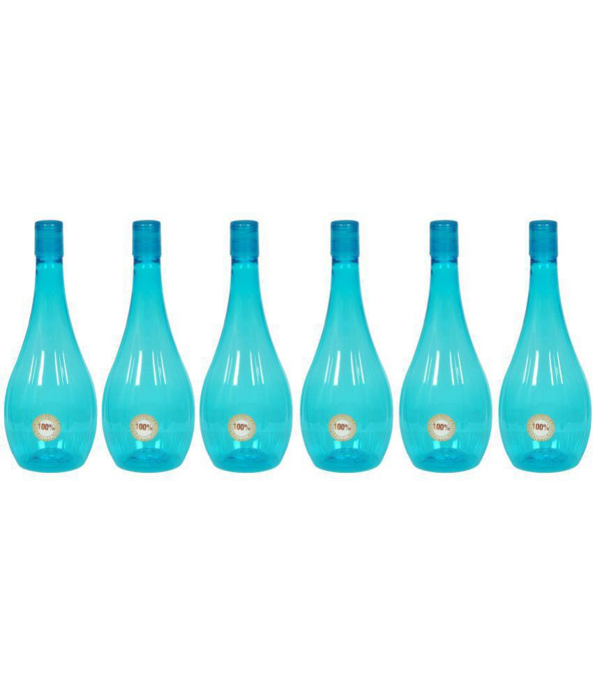 blue glass bottle vase of harshpet neer blue 1000 ml pet water bottle set of 6 buy online at in harshpet neer blue 1000 ml pet water bottle set of 6