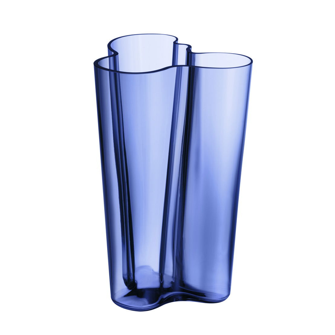 blue glass cylinder vase of press release iittala pays tribute to finlands 100th birthday regarding aalto vase 251 mm price o d