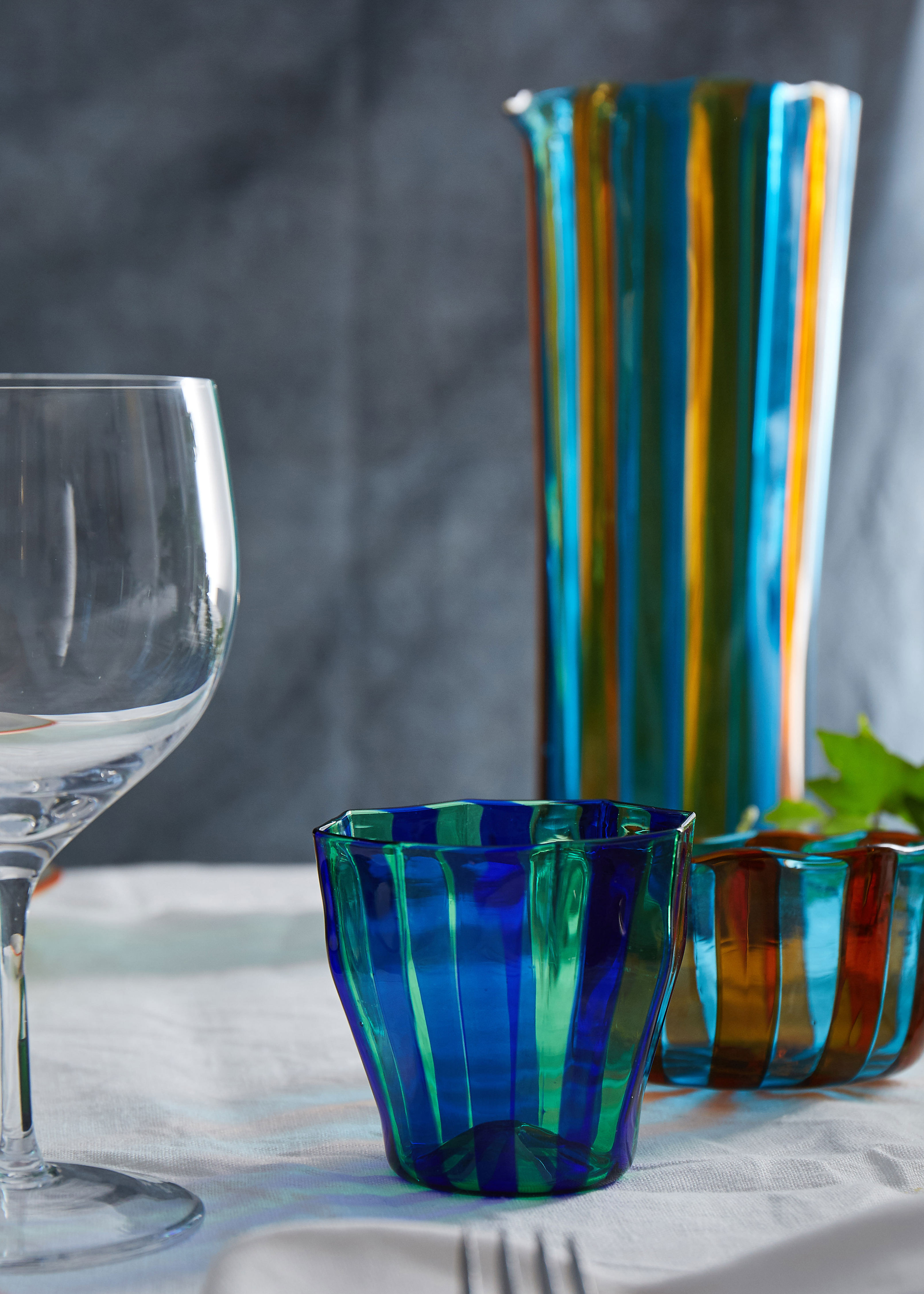 blue green glass vase of rosanna murano glass collection campbell rey intended for rosanna murano glass collection