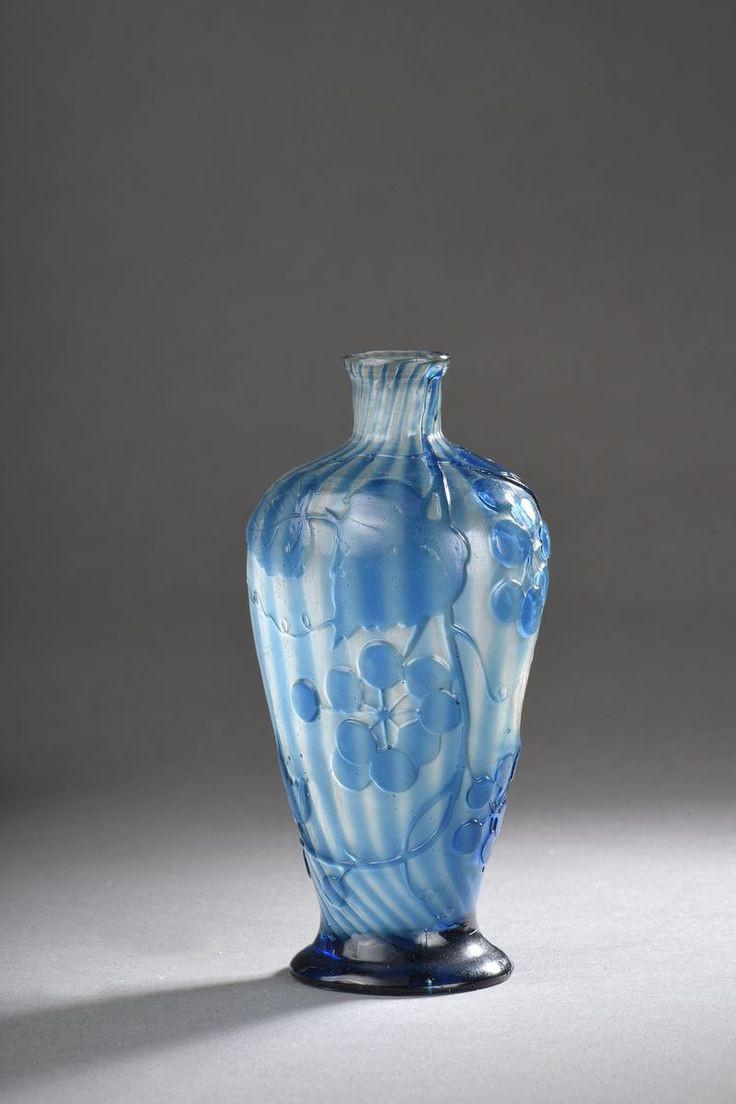 blue john vases for sale of 143 best maatre verrier galla ac289mile maatre verrier et caramiste throughout galle ac289mile vase conique sur petit piadouche a apaulement renfla