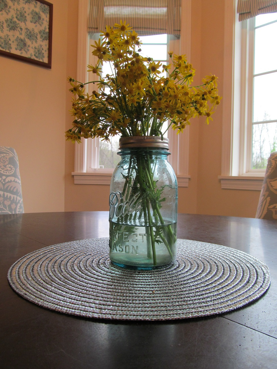 blue mason jar vase of ll farm how to keep flowers upright in a mason jar throughout anything looks better in a mason jar right