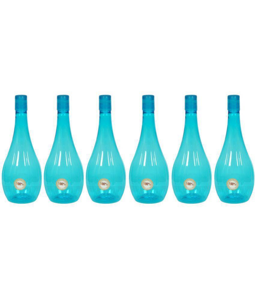 blue plastic vase of harshpet neer blue 1000 ml pet water bottle set of 6 buy online at with harshpet neer blue 1000 ml pet water bottle set of 6