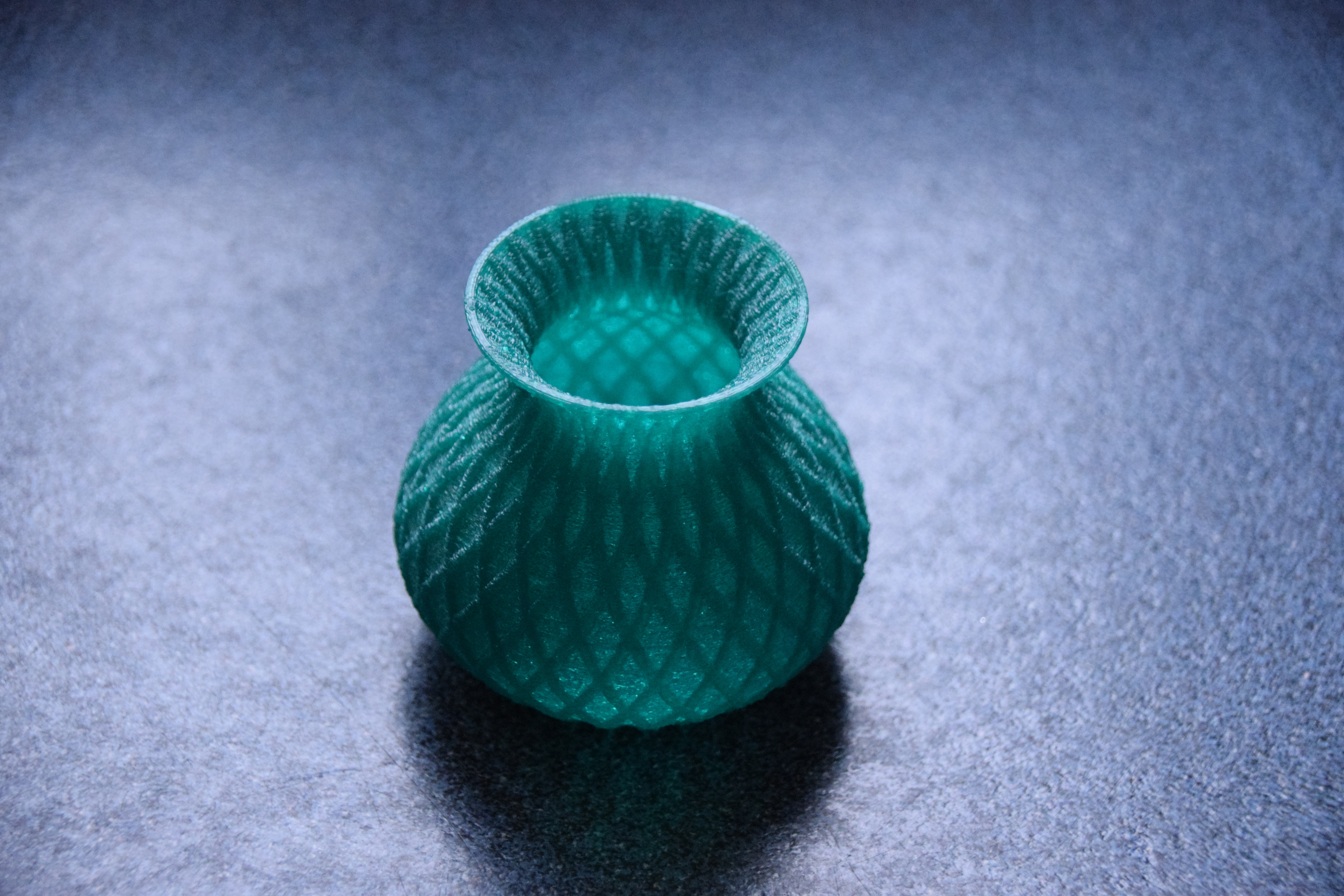 blue plastic vase of small vase by bastien thingiverse within by bastien may 27 2014 view original