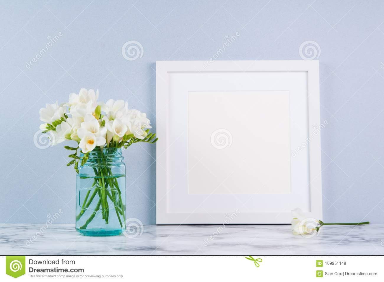 Blue Table Vase Of 27 Beautiful Flower Arrangements Square Vases Flower Decoration Ideas Throughout Flower Arrangements Square Vases Luxury Frame Mockup Stock Photo Image Of Mock Fressia Blue
