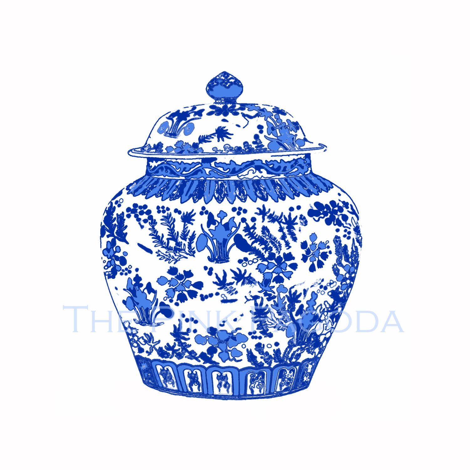 blue willow vase of blue and white chinese ginger jar on white ikea by thepinkpagoda pertaining to blue and white chinese ginger jar on white ikea by thepinkpagoda 30 00