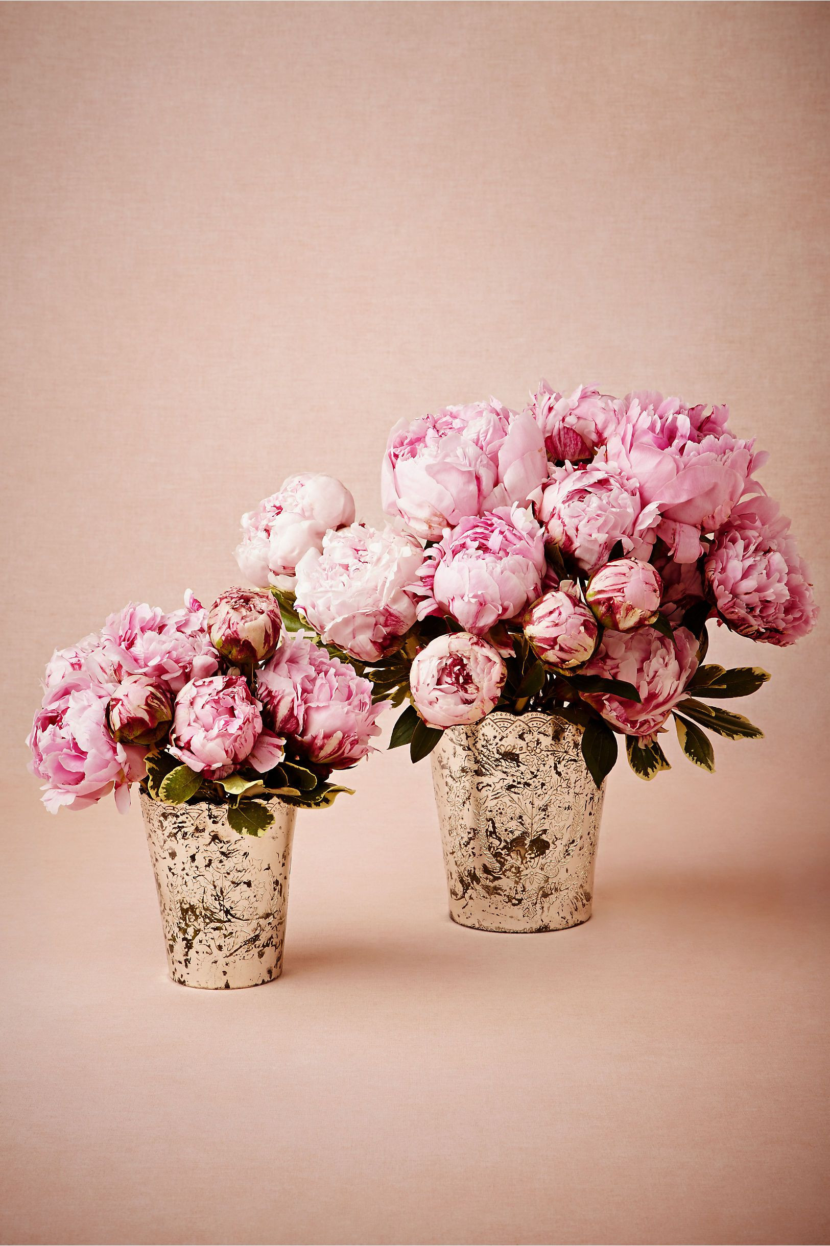 blush pink vase of tracing botany vase in dacor centerpieces at bhldn wedding regarding bright a pink peonies in mercury vases tracing botany vase from bhldn