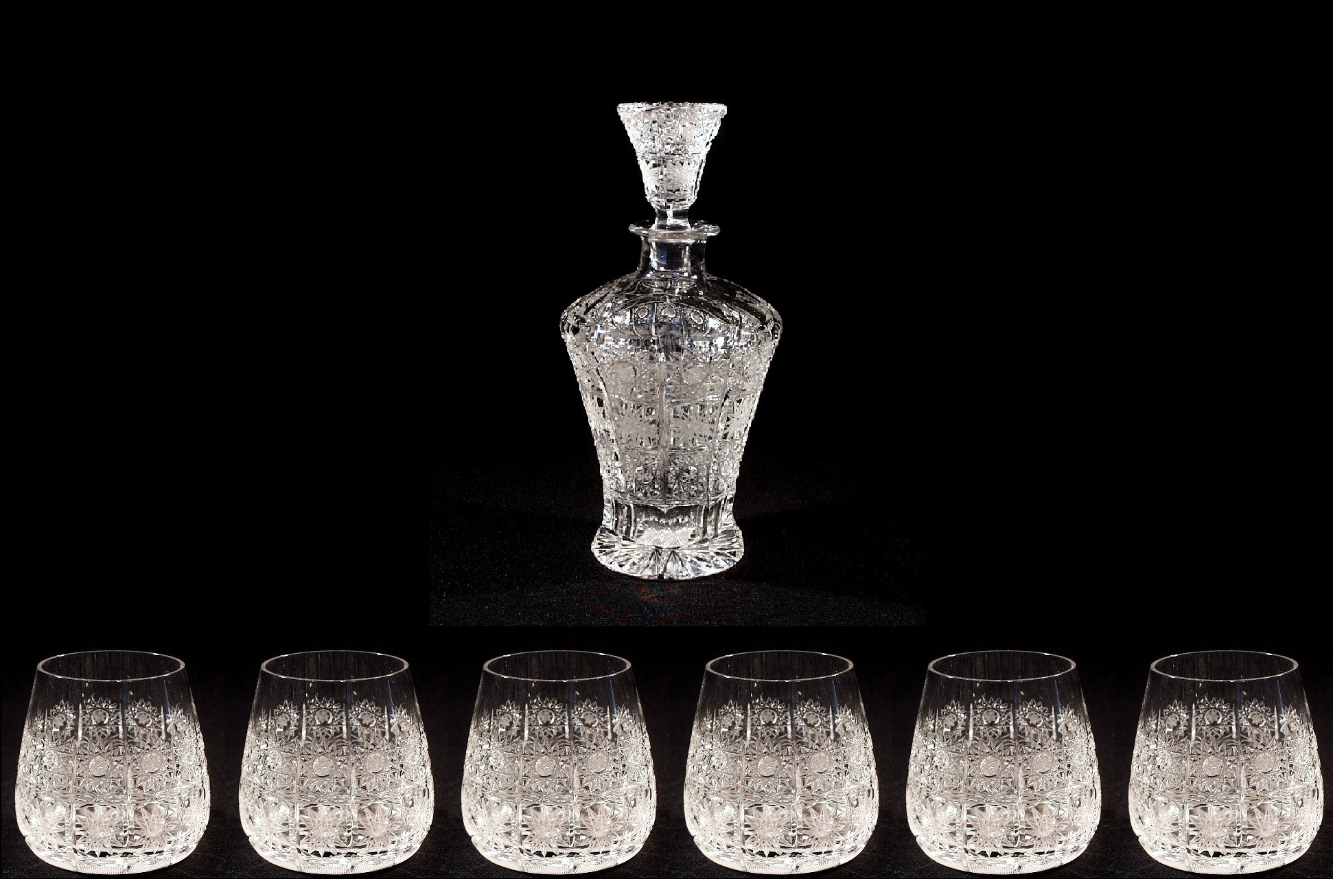 bohemian cut crystal vase of crystal and design drinking sets glass porcelan sklo lustry with crystal cut service 57001 7 pcs