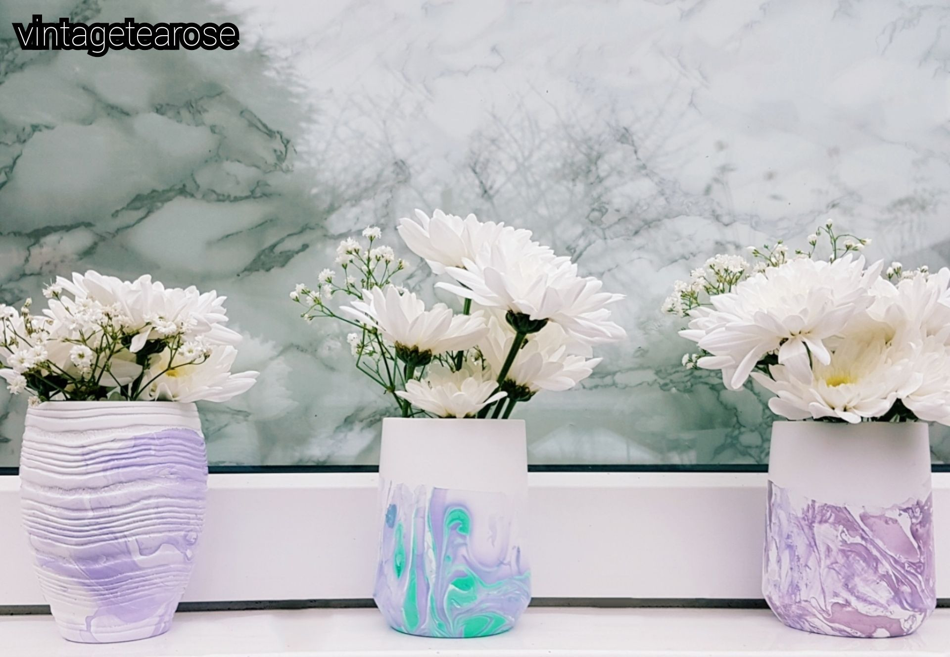 bouquet vase holder of how to marble containers storage vase stationery holder brush with how to marble containers storage vase stationery holder brush holder christmas present gift ideas diy easy quick simple diy nail vanish polish
