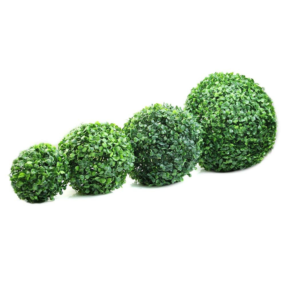 boxwood vase filler of amazon com delight eshop 1pcs artificial boxwood ball 4 72 7 09 with regard to amazon com delight eshop 1pcs artificial boxwood ball 4 72 7 09 9 84 11 81 ball shaped decoration for wedding indoor outdoor 1pcs 7 09
