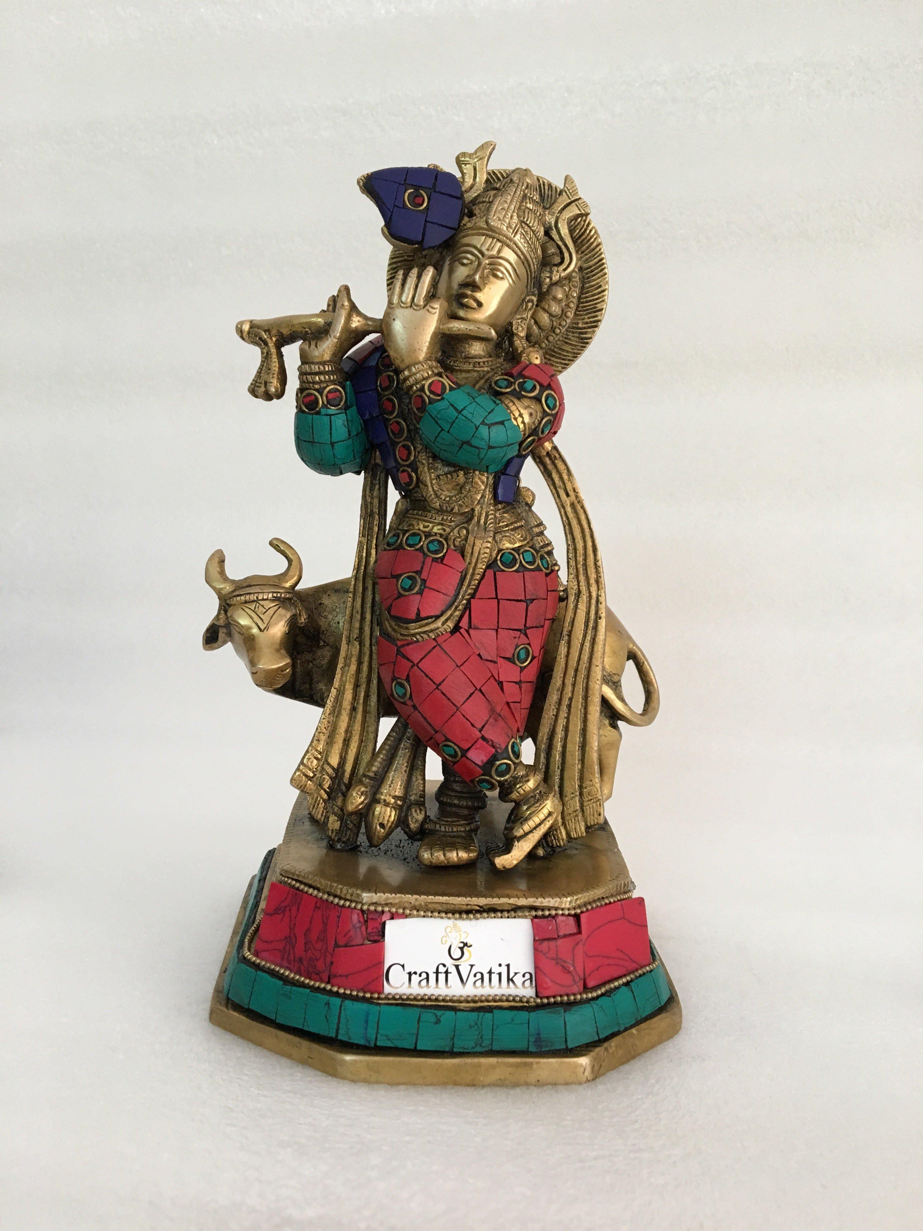 brass bud vase india of large brass cow krishna statue hindu god krishan beautiful sculpture pertaining to large brass cow krishna statue hindu god krishan beautiful sculpture