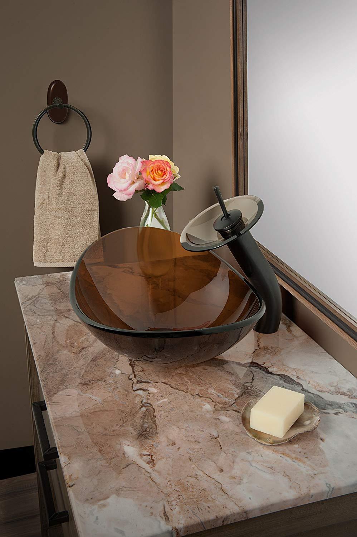 brushed nickel vase of novatto babbuccia glass vessel bathroom sink vessel bowls amazon com within 81dicyraafl sl1500