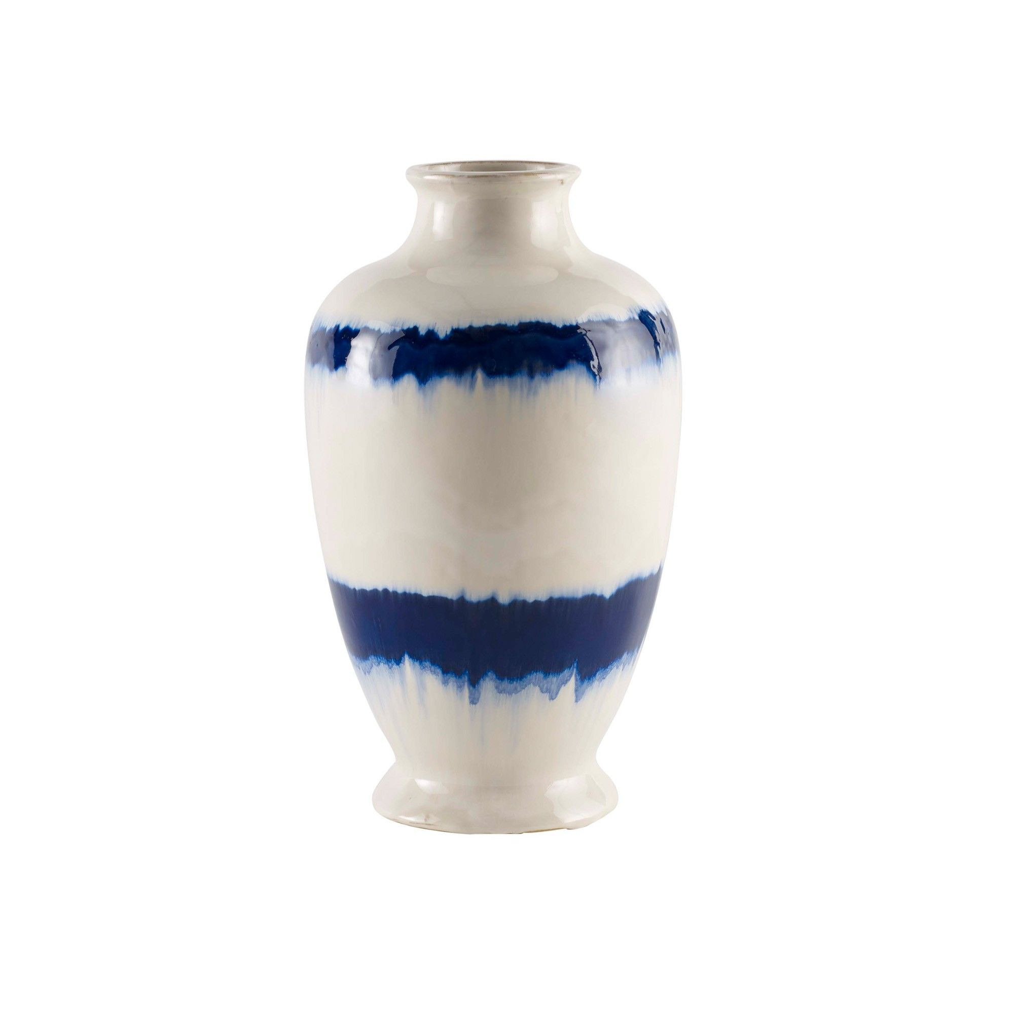 brushed nickel vase of vivian vase white blue colour final project pinterest ceramic with regard to vivian vase white blue