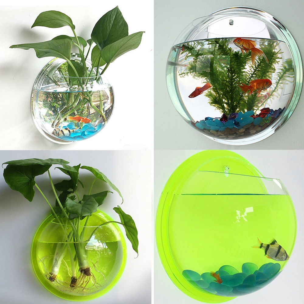bubble bowl glass vase of clear potted plant wall hanging bubble fish bowl tank aquarium with regard to clear potted plant wall hanging bubble fish bowl tank aquarium decoration diy set home