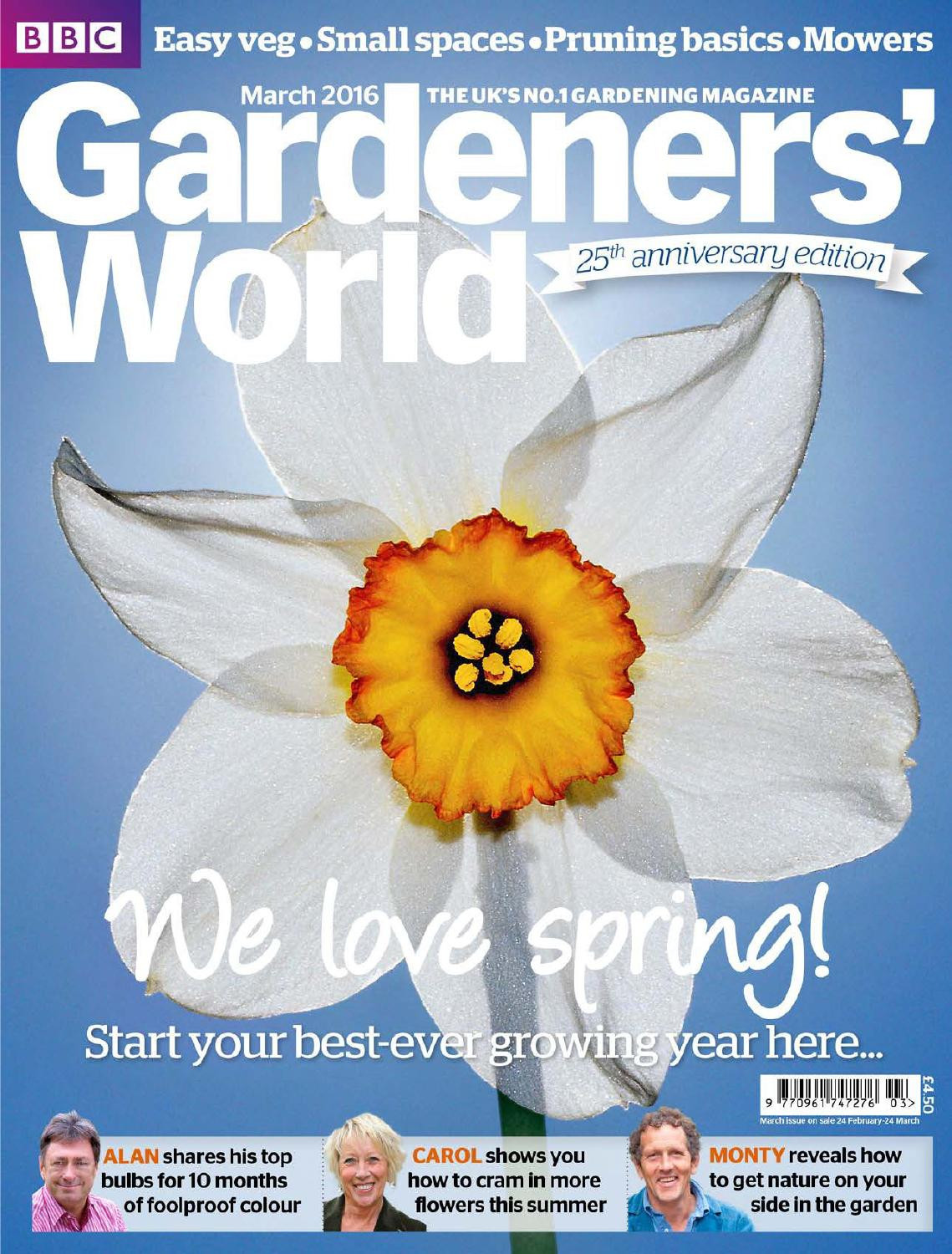 bulb forcing vases for sale of gardeners world mag 1603 25th anniversary edition by cristina with gardeners world mag 1603 25th anniversary edition by cristina meizoso issuu