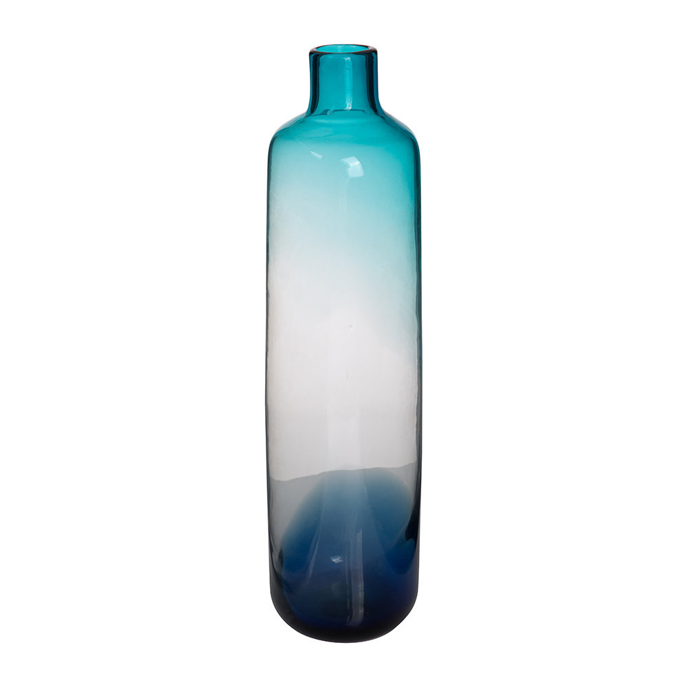 Buy Plastic Cylinder Vases Of Buy Pols Potten Pill Glass Vase Blue Amara within Next