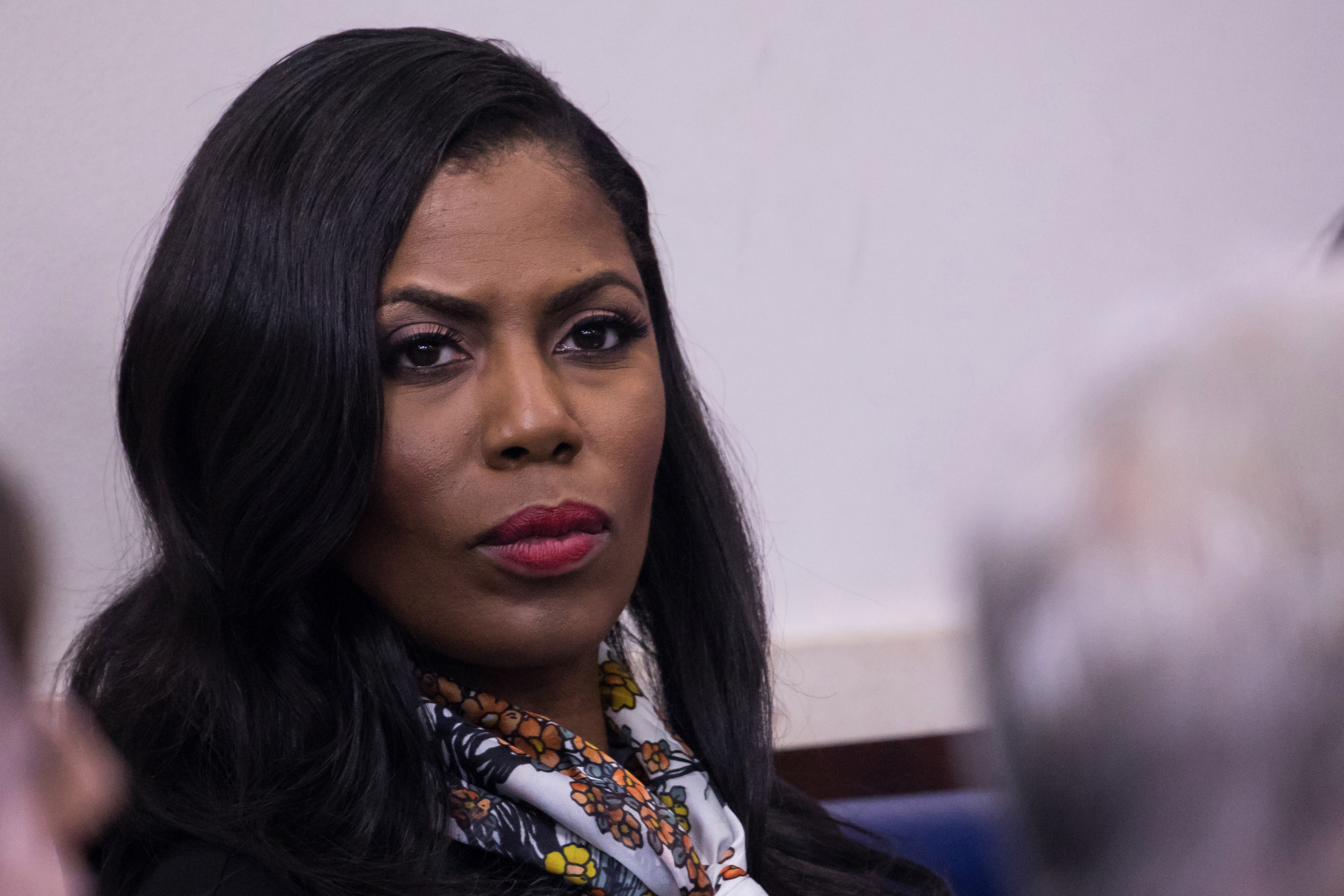 Cameo Girl Head Vases Sale Of Omarosa to Release New White House Tape On the View Intended for Gettyimages 692963130