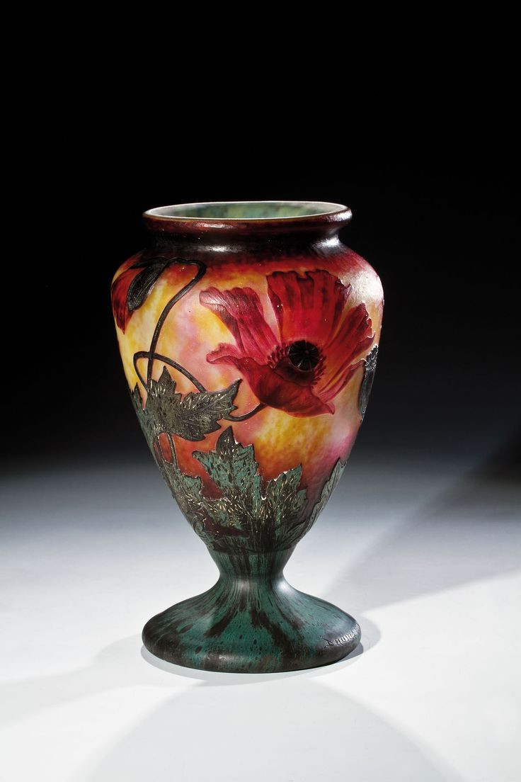 Cameo Glass Vase Of 2093 Best Art Glass Images On Pinterest Art Nouveau Glass Vase Inside Daum Fra¨res Nancy Acid Etched Wheel Carved Glass Vase