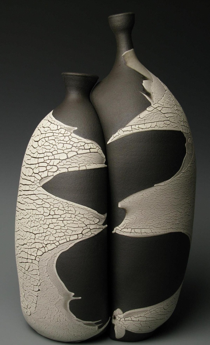 can you spray paint ceramic vases of 15 best ceramics images on pinterest ceramic art porcelain and for black and white glazes with deep textures define the current work shown by ceramic artist michael prokos as one of four artists in a show titled play