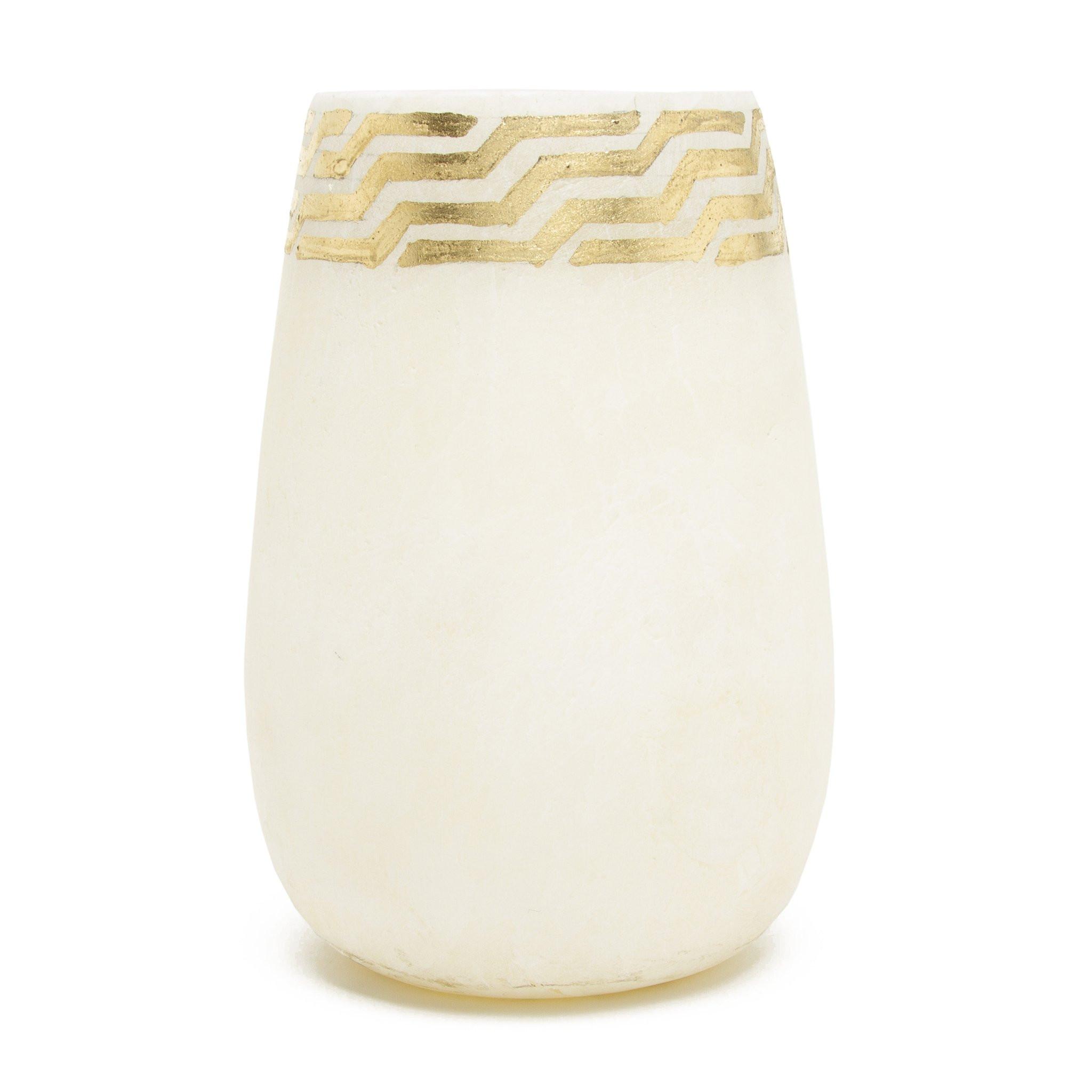 carved alabaster vase of egyptian alabaster vessel with gold leaf detailing large the intended for egyptian alabaster vessel with gold leaf detailing large