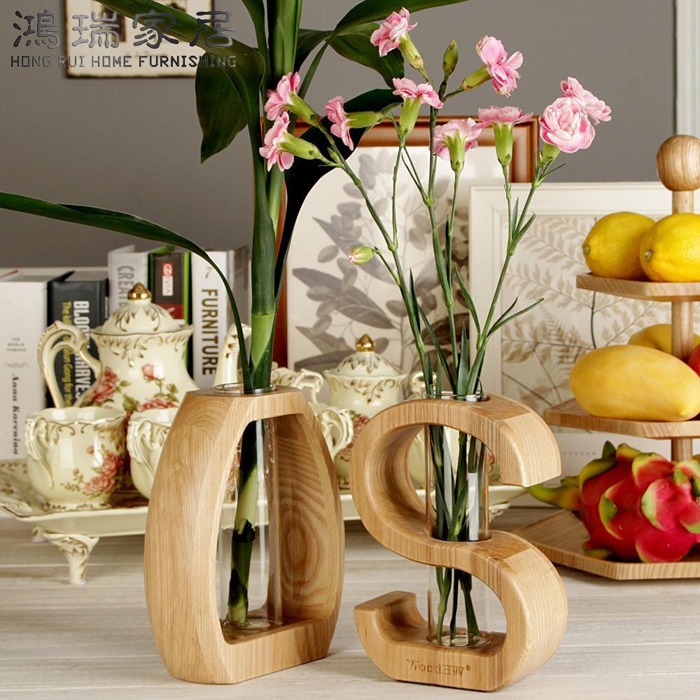 29 Unique Carved Wooden Vase