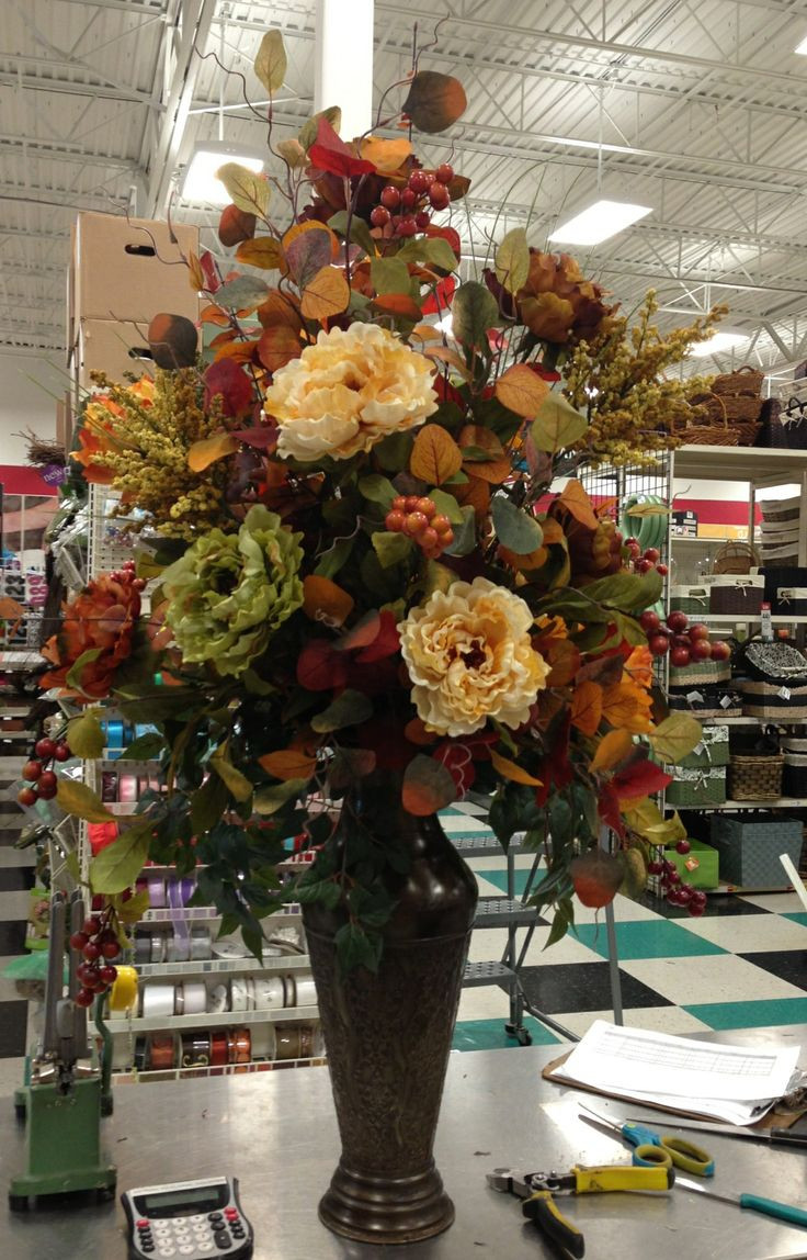 cemetery vase liners of 26 best flowers images on pinterest floral arrangements pertaining to talented michaels desginers fall arrangement kim t