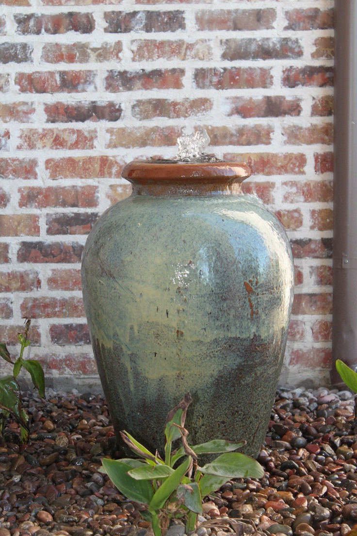 ceramic vase fountain of 14 best fountains images on pinterest backyard ideas fire places throughout needing a smaller water display how about an urn