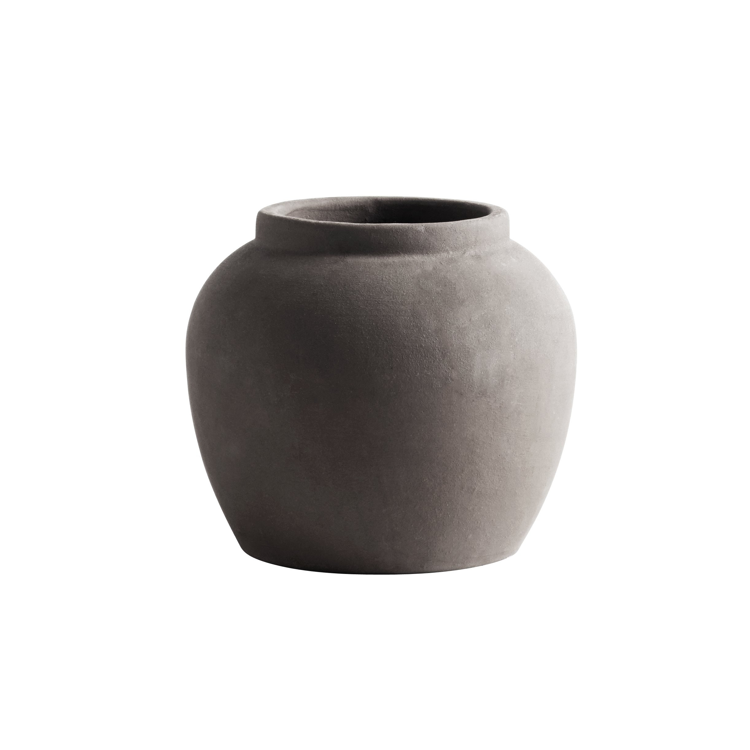 Ceramic Vase Shapes Of Jar Clay S D18xh24 Smoke Products Tine K Home Intended for Jarvase S Smo